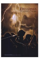 Lord of the Rings: Fellowship of the Ring Lightning Fine Art Print