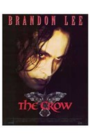 The Crow Brandon Lee Framed Print
