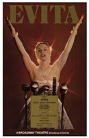 Evita (Broadway Musical) Wall Poster