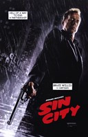 Sin City Bruce Willis as Hartigan Wall Poster