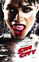 Sin City Roasario Dawson as Gail Close Up Wall Poster