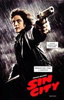 Sin City Benicio del Toro as Jackie Boy Wall Poster