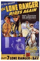 The Lone Ranger Rides Again Wall Poster