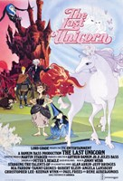 Last Unicorn - Light and dark Wall Poster