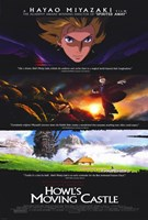 Howl's Moving Castle Scenes Wall Poster