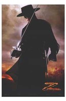 Legend of Zorro Framed Print