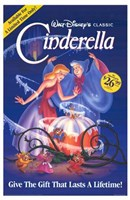 Cinderella VHS Framed Print