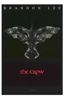 The Crow Eyes Brandon Lee Wall Poster