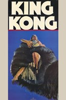 King Kong fay Wray in Hand Wall Poster