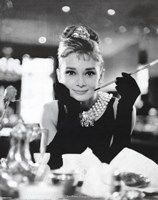 Audrey Hepburn - Breakfast at Tiffany's Wall Poster