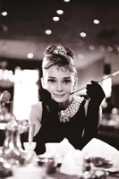 Audrey Hepburn-Breakfast at Tiffany's Wall Poster