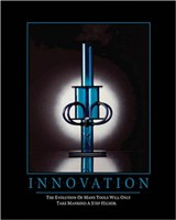 INNOVATION Wall Poster
