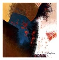 Teal Abstract II Fine Art Print