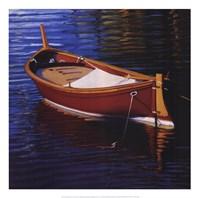 Piccolo Barca Rossa Fine Art Print