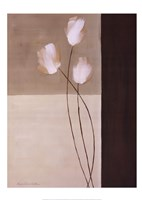 Floral Whispers I Framed Print
