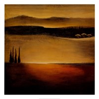 Puesta Del Sol Fine Art Print