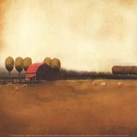 Rural Landscape II Framed Print