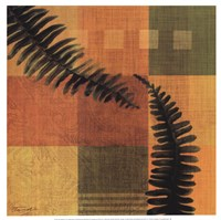 Fern Blocks II Fine Art Print