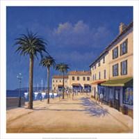 Seaside Promenade II Fine Art Print
