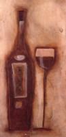 At the Wine Bar I Fine Art Print