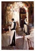 Two Waiters, Place des Vosges Fine Art Print