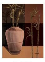 Lucky Bamboo II Framed Print