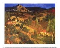 Provencal Landscape Fine Art Print