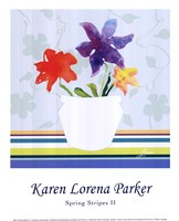 Spring Stripes II Fine Art Print