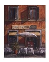 Caf Roma Fine Art Print