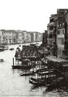 Array of Boats, Venice Framed Print