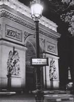 Place Charles de Gaulle Fine Art Print
