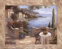 MediterraneanTerraceI Fine Art Print