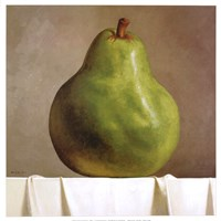 Green Pear Fine Art Print