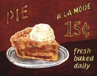 Pie A La Mode Fine Art Print