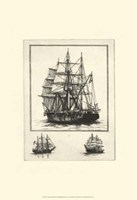 Antique Ships II Fine Art Print