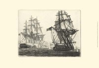 Antique Ships III Fine Art Print