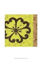 Key Lime Rosette III Fine Art Print