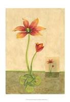 Entwined Tulips Fine Art Print
