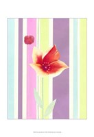 Flowers & Stripes IV Fine Art Print