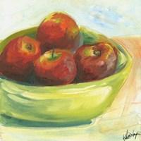 Bowl of Fruit III Framed Print