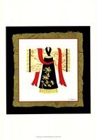 Kimono I Framed Print