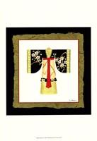 Kimono IV Framed Print