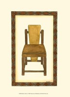 Rustic Chair I Fine Art Print