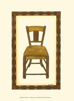 Rustic Chair II Fine Art Print