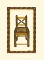Rustic Chair III Fine Art Print