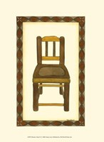 Rustic Chair IV Fine Art Print