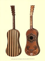 Antique Guitars II Fine Art Print
