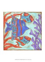 Pop Fish IV Fine Art Print