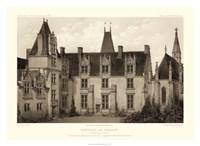Sepia Chateaux I Giclee