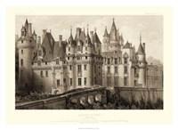 Sepia Chateaux II Giclee